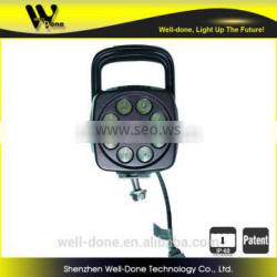 square led tractor working lights, LED work lamp, 27W LED work lights with a handle for option