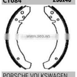 Non-asbestos FSB0011556044 for Ford VW brake shoes catalogue