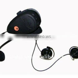 100m Intercom Bluetooth Headset Motorcycle Helmet with FM MP3 Player for Bicycle