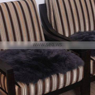 Factory wholesale sheepskin car seat cover