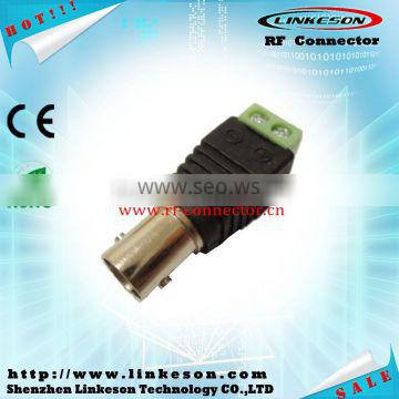 Competitive price BNC female coaxial connector DC adapter