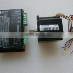 573S09 &3ND583 /3DM583 stepper motor and driver for for co2 laser engraving and cutting machine x axis