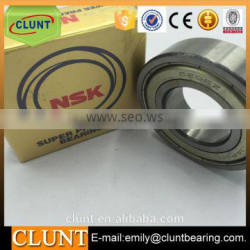 6206z NSK deep groove ball bearing stainless 30*62*16 ball bearing for machinery