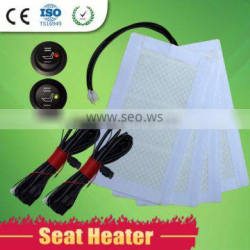 Top quality and low in price universal car heated seater with new round switch