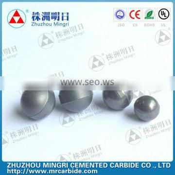Cemented carbide semifinished spheres