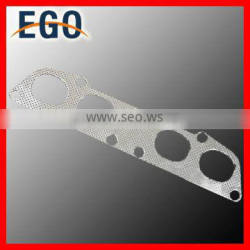 91-95 NON TURBO STAINLESS STEEL EXHAUST MANIFOLD CHROME HEADER+GASKET 5S-FE 2.2 FOR TOYOTA MR2 SW20