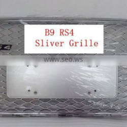 A4 change to B9 RS4 for audi all silver grille 2013 year