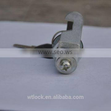 25mm zinc alloy stainless steel cover office furniture cam lock cabinet lock