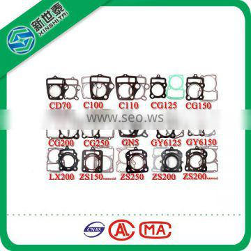 Hot sell!!!Oil-resistant CD70 and different models motorcycle cylinder head gasket