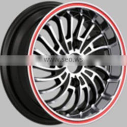 pink alloy aluminum rims for cars