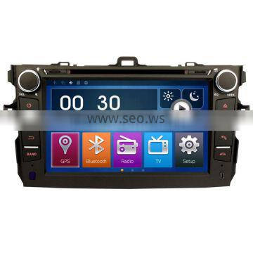 8Inch 2Din Special Car Stereo DVD Player GPS Sat Nav Bluetooth For Toyota Auris Corolla Hatchback DK8022