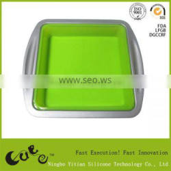 2014 carbon steel silicone cake mould FDA Zhejiang