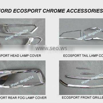 ford ecosport accessories, ford ecosport head lamp chrome Cover