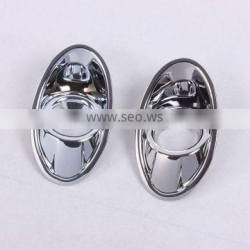 Front Fog Light Lamp Cover ABS Chrome 2 Pcs For F-oc us 2012 Accessories