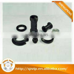Custom fabrication services metal parts, cnc aluminum turning parts with anodized