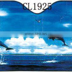Dolphin Printing Low Price Air Bubble Car Front Sunshade