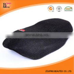 Cheap polyester black 3d air mesh fabric for motorcycle seat cover wholesale in china