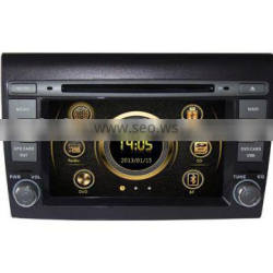 Touch screen wince 6.0 car navigation system for Fiat Bravo with GPS/3G/Bluetooth/TV/IPOD/RDS
