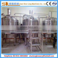 Optimized and simplified brewing system 2000l brewery equipment,multiple function fermentation tank