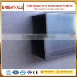 Storefront applied alloy extruded technique aluminum rectangular bar and aluminum square tube fittings