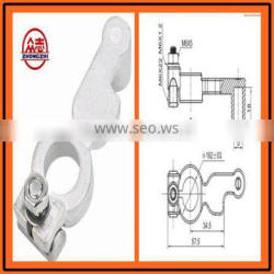 ST915137-D Brass Coted truck/ bus/ car Battery Terminal types DIN cable terminal,wire terminal,electrical accessories