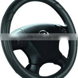 High Quality Pure Color PU car steering wheel cover