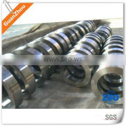 high quality maching Ti alloy ring OEM and custom China die casting iron casting foundry for auto, pump, valve,railway