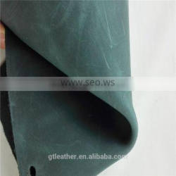 Cow leather manufacturer for crazy horse vintage leather