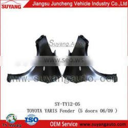 Steel Front Fender For YARIS Hatchback parts Auto Body Parts