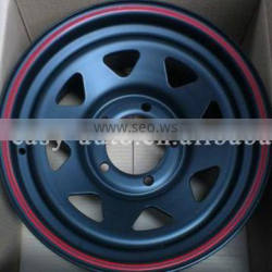 stainless steel 4x4 off-road wheels with top quality