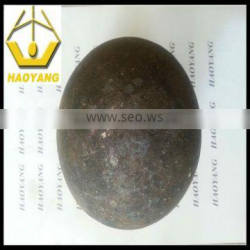 HRC 50-65 forging ball for cement plant