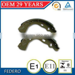 China factory sale high performance brake shoes