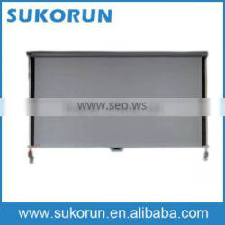 Electrical sunshade for bus