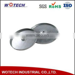 OEM Big Round Stainless Steel Serving Tray for hotel