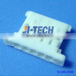 1.25mm pitch wire to board receptacle housing 5 pin connector female molex 51146 series connector 51146-0500