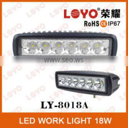 2014 Newest auto accessories 18w 4x4 car led work light, IP67 Truck led driving light