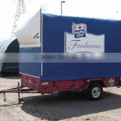 hith quality outdoor waterproof pvc tarpaulin truck cover