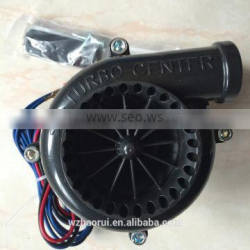Black Electronic Blow Off Valve like turbo sound for General cars without turbo
