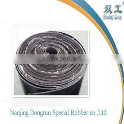 high quality rubber sheet insertion