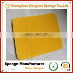 trowel use high elastic closed cell high density natural rubber sponge