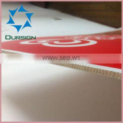 Correx board, Coroplast sheets, PP hollow sheets for sign