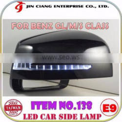 Car accessories OEM LED Side Mirror Signal Light FOR Ben z GL Class