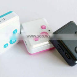 V16 cute design long battery life gps tracker with SOS Call and Hand-free for talk for children