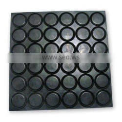 PU/silicone/rubber self adhesive rubber feet, rubber foot