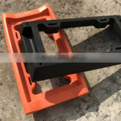 The Thickest, Toughest, All Rubber Front Bumper Guard, Front Bumper Protection, License Plate Frame