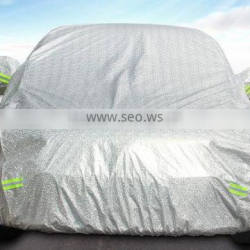 Waterproof folding car cover fabric, car cover for unversal car