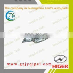Good quality and hot sale KLQ6796,6856 higer bus spare parts headlight and headlamps