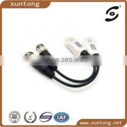 New Product Hot Sale Single Channel Passive UTP Video Balun for CCTV Manufacturer, Compliant with CE, RoHS and FCC
