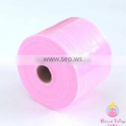 Hot sale colorful tulle roll for tutu from china in Polyester Fabric tulle for baby clothes