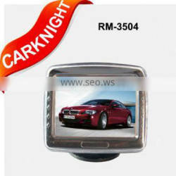 3.5 inch TFT-LCD car rearview monitor,stand-alone monitor